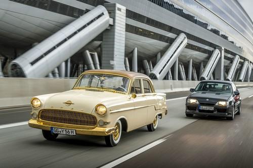 Opel-Klassiker am Bodensee: Der zweimillionste Opel, ein Kapitän A  Foto: Auto-Medienportal.Net/Opel